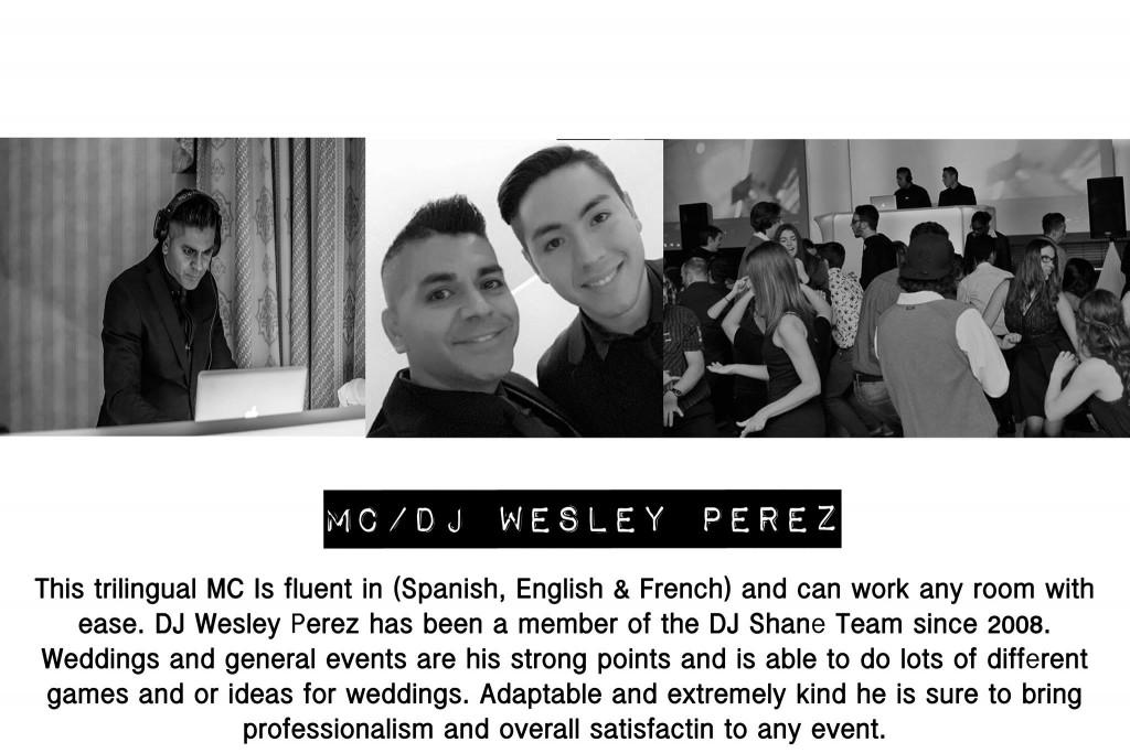 DJ Wesley Perez