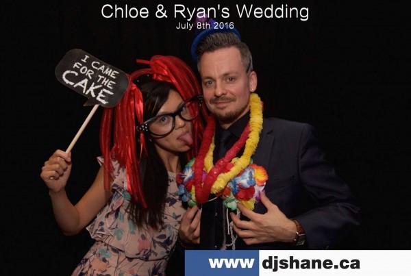 Chloe & Ryan's Wedding PhotoBooth DJ Shane Oliveira