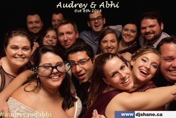 Audrey & Abhi Wedding Photo Booth dj shane oliveira